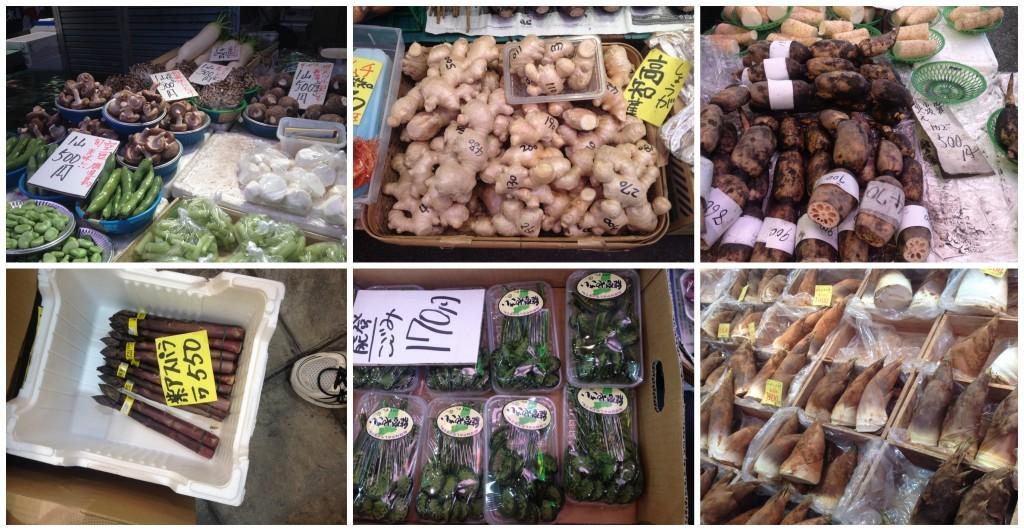Omi-cho Markets selection