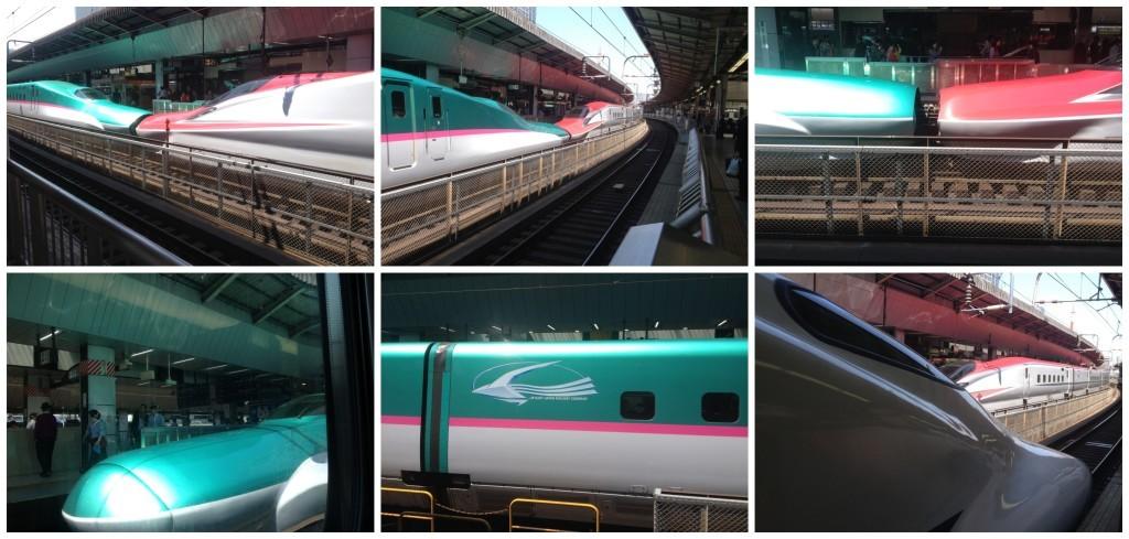 Japan East Railway Shinkansen at Tokyo station