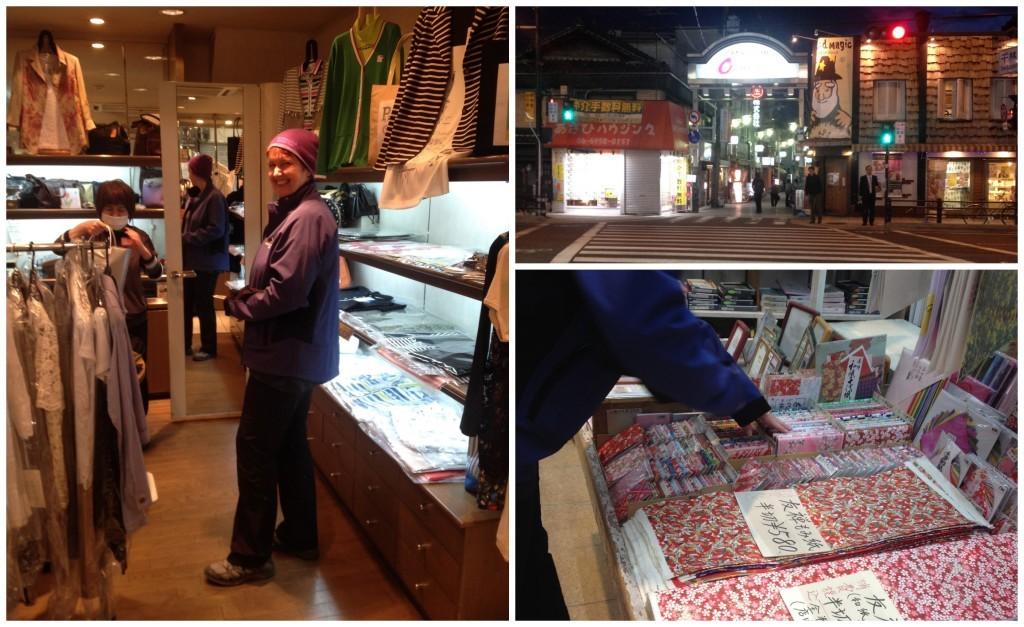 Shopping in Sembayashi-omiya