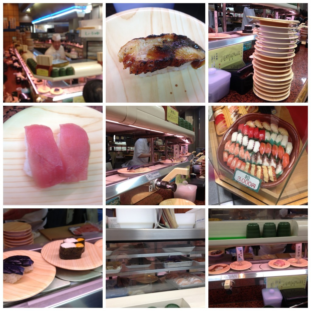 Images from our Sushi experience