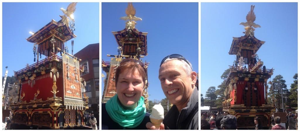 Takayama Yatai spring festival floats