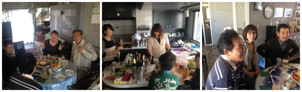 bbq in Japan with Toshi, Yumi and friends