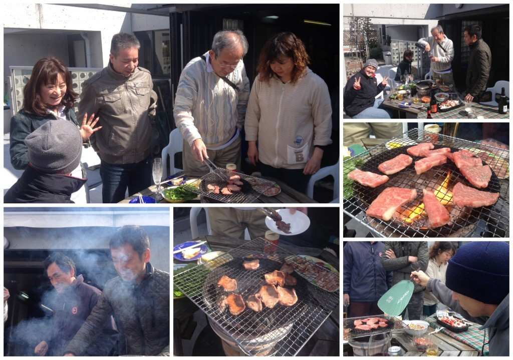 Images from grilling on the bbq