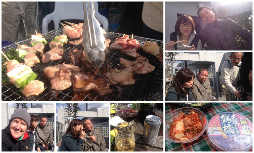 More images from our Japanese bbq in Osaka