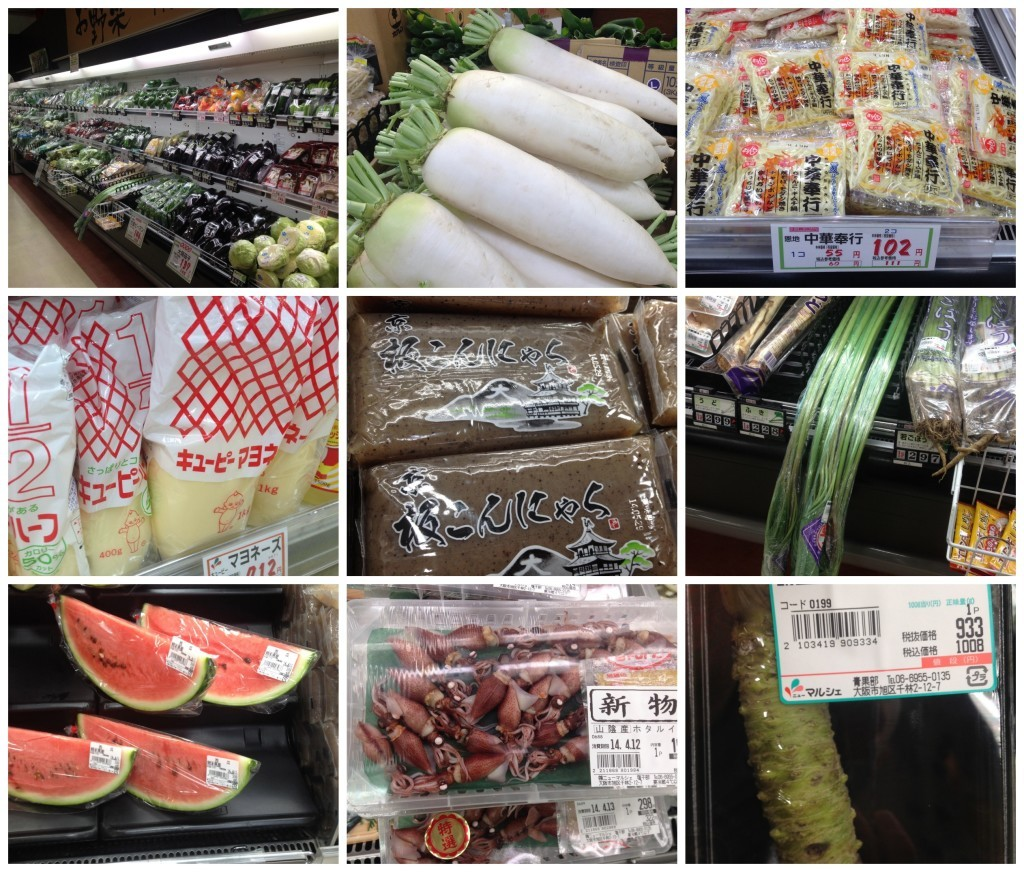 More supermarket products