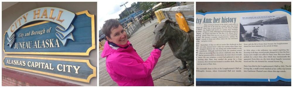 Alaska's capital city Juneau, the story of Patsy Ann