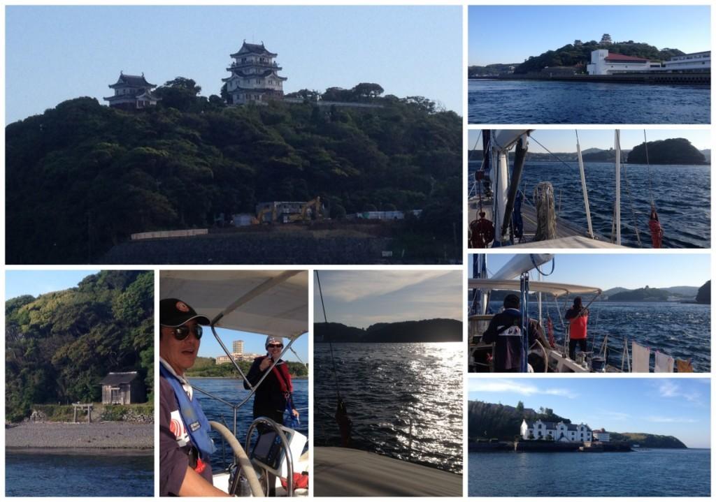 Arriving in Hirado
