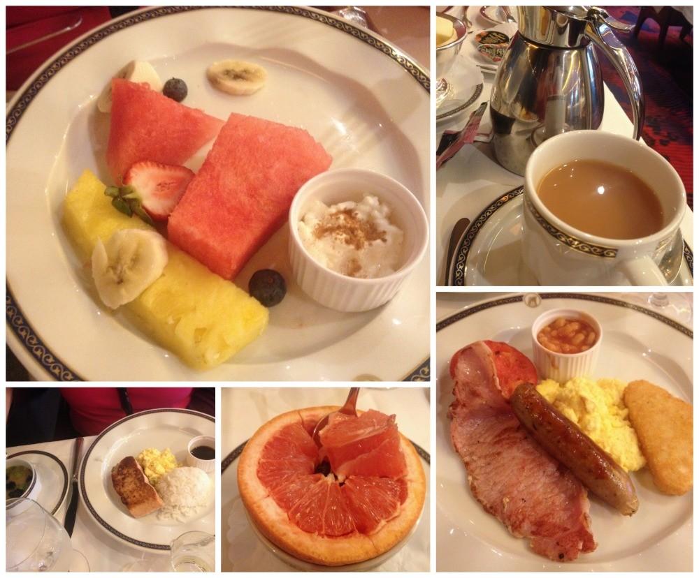 Breakfast on MS Oosterdam