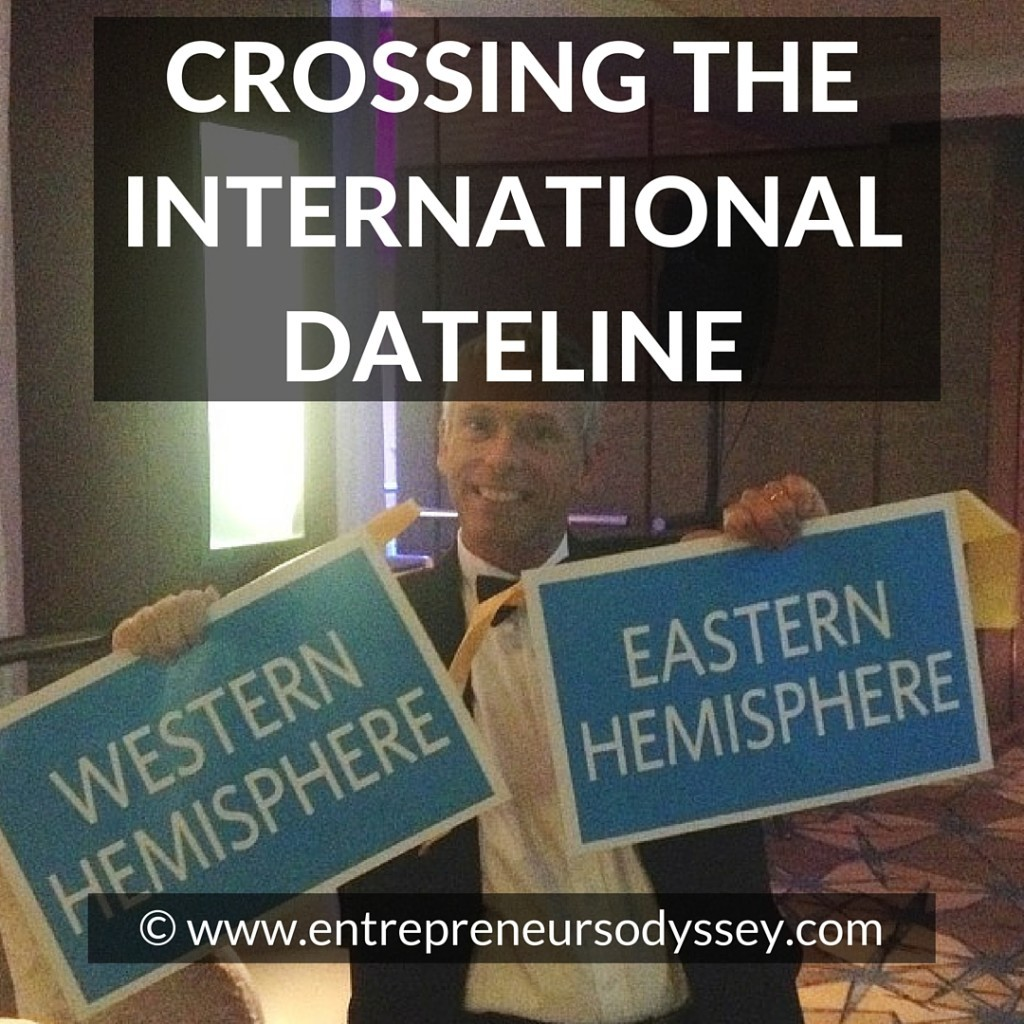 CROSSING THE INTERNATIONAL DATELINE