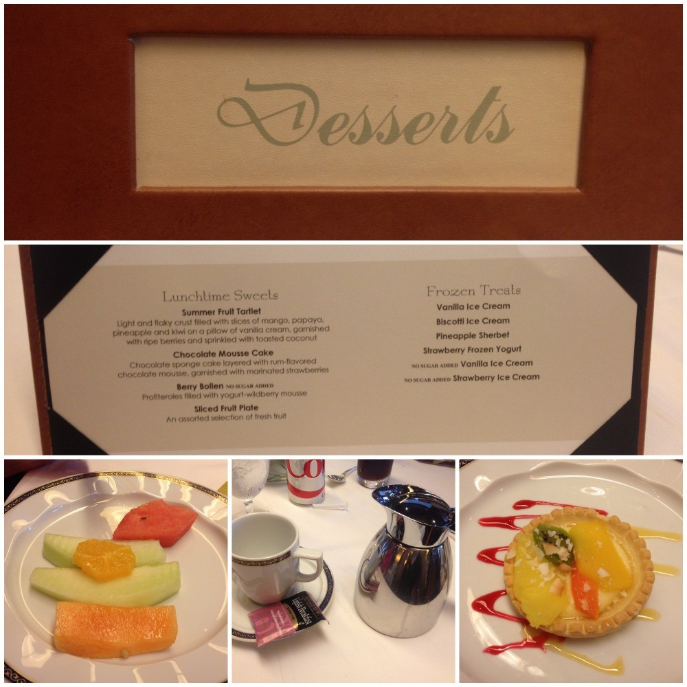 Desserts from our lunch