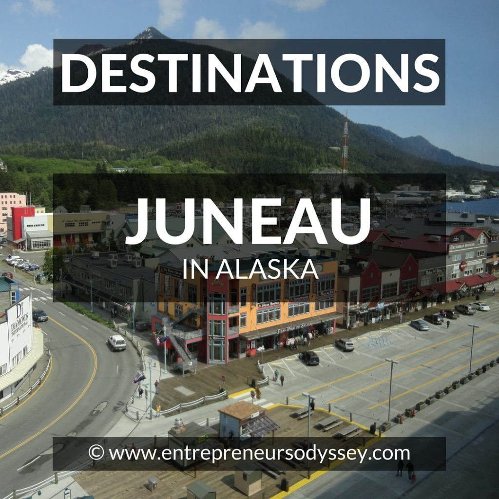 Destination A glimpse of Juneau in Alaska