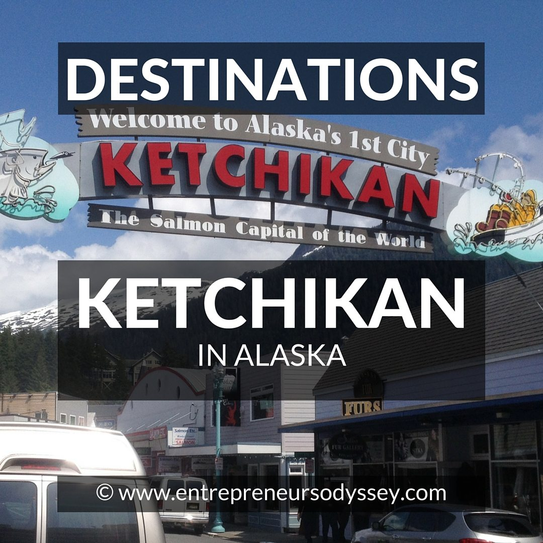 Destination A Glimpse Of Ketchikan Not Just Totem