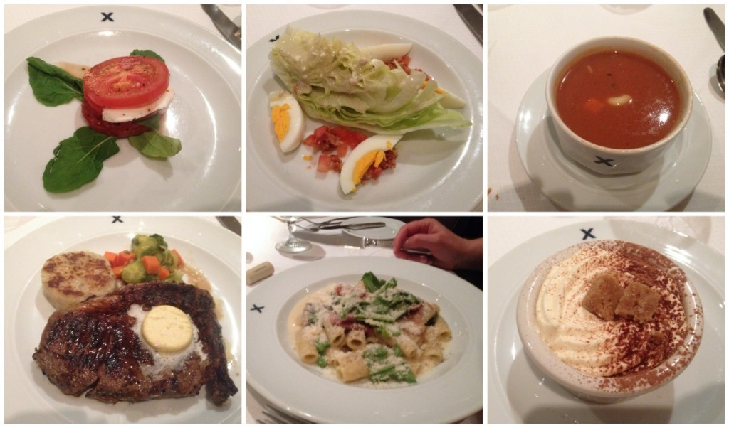 Dinner in the Metropolitan on Celebrity Millennium