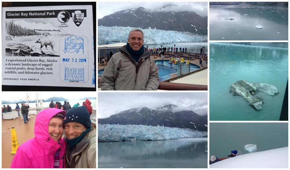 Glacier Bay Ice bergs