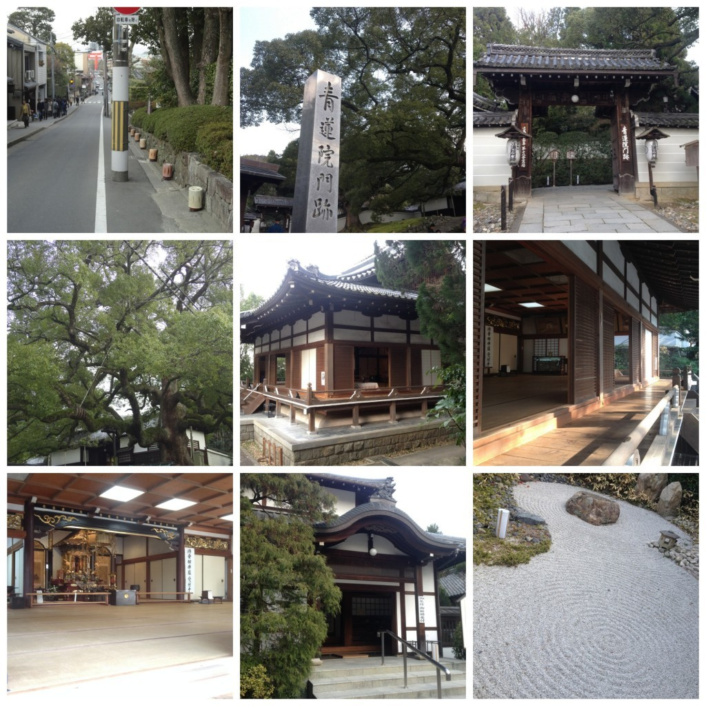 Images from Shoren-in temple