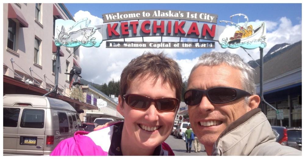 Ketchikan in Alaska