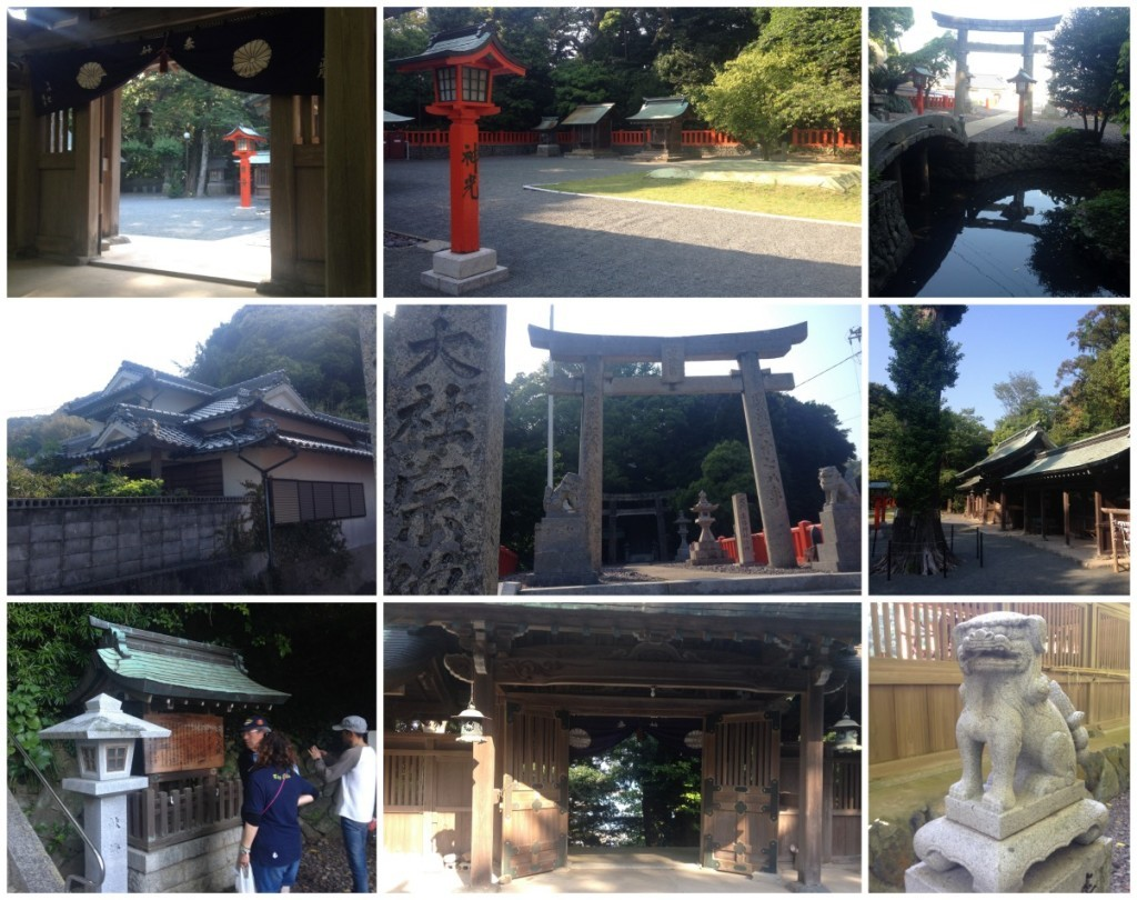 Our visit to the shrine