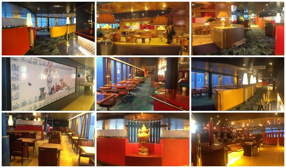 The Buffet dinning room on MS Oosterdam