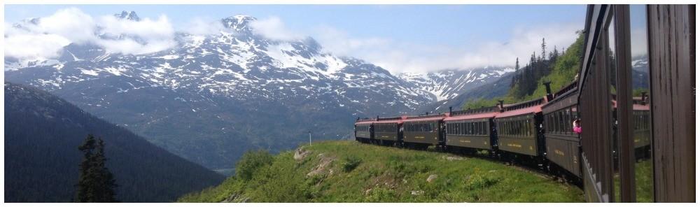 The Yukon Route & White Pass in Skagway Alaska