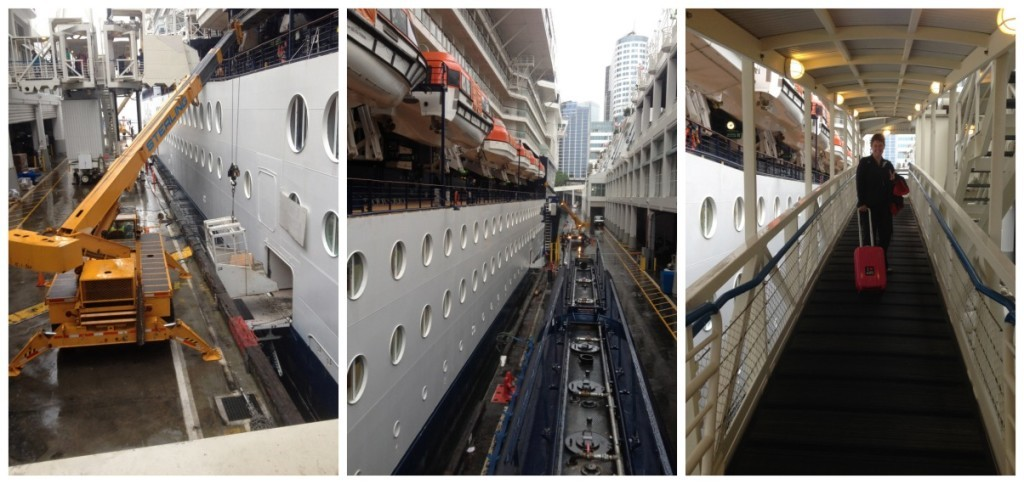 The end of our Celebrity Millennium cruise