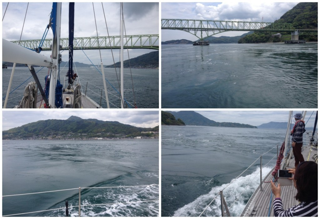 The second bridge, and more whirpools that captain must navigate