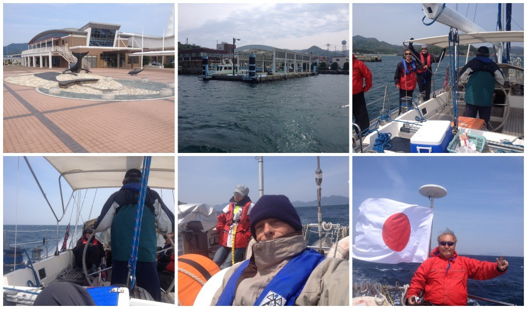 We had a good wind leaving Arikawa