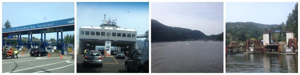 BC ferry from Horseshoe Bay to Bowen Island