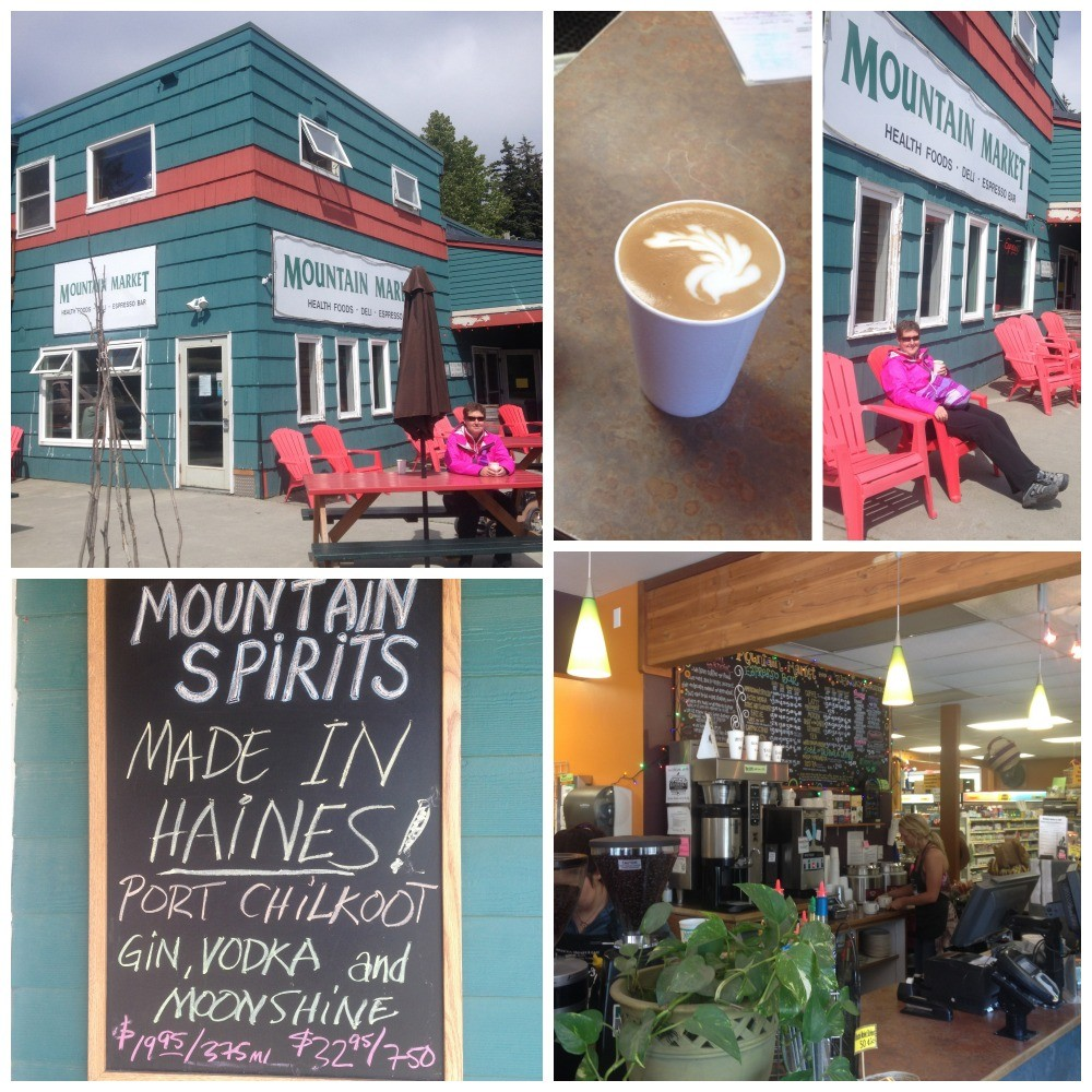 Coffee from Mountain Market in Haines