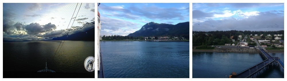 First glimpse of Haines Alaska