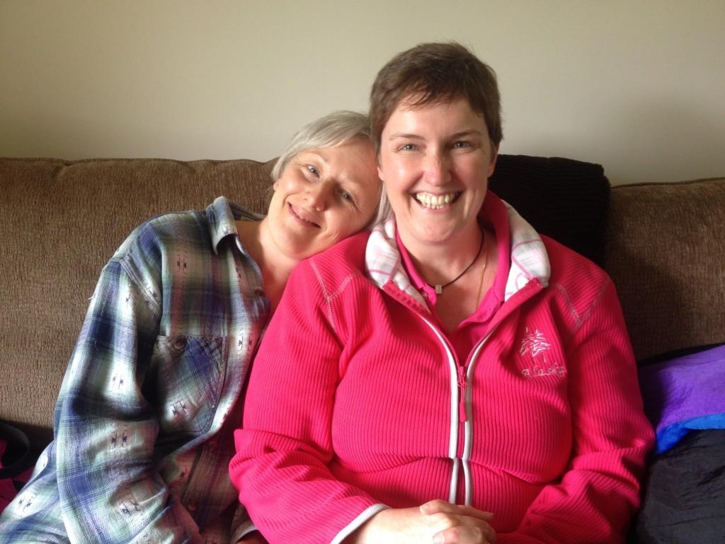 Davina & Moni longtime online friends
