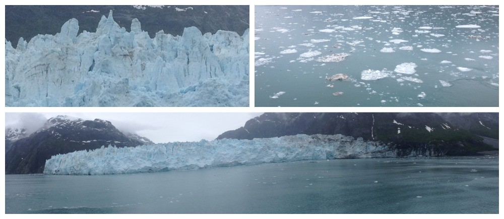 Ice waters in Glacier Bay National Park & Preserve