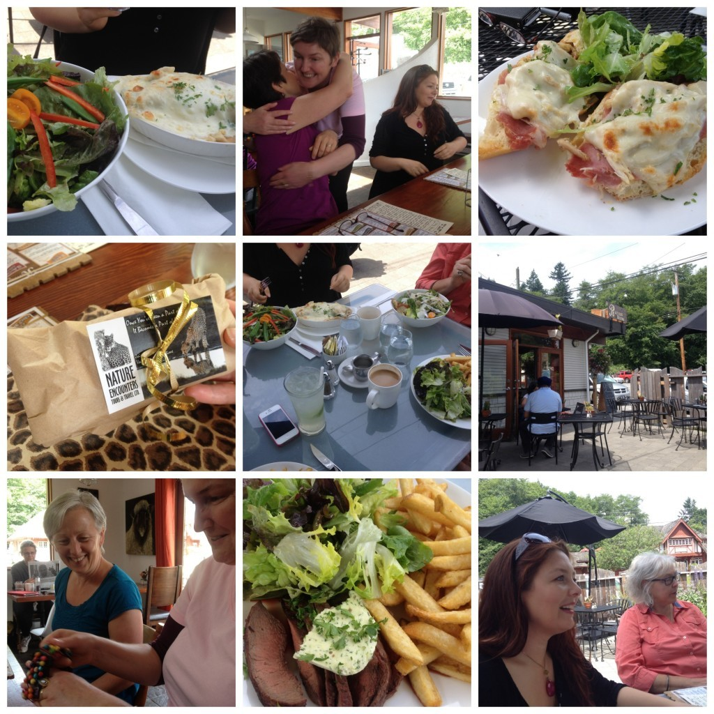 Images from Moni's Birthday lunch on Bowen