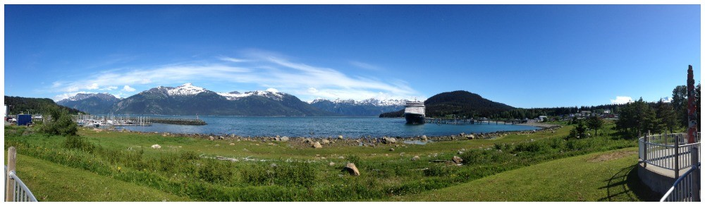 MS Oosterdam in Haines Alaska
