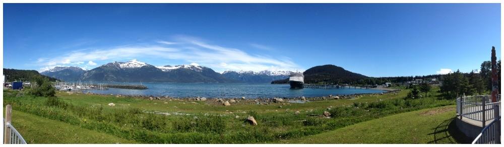 MS Oosterdam in Haines Alaska