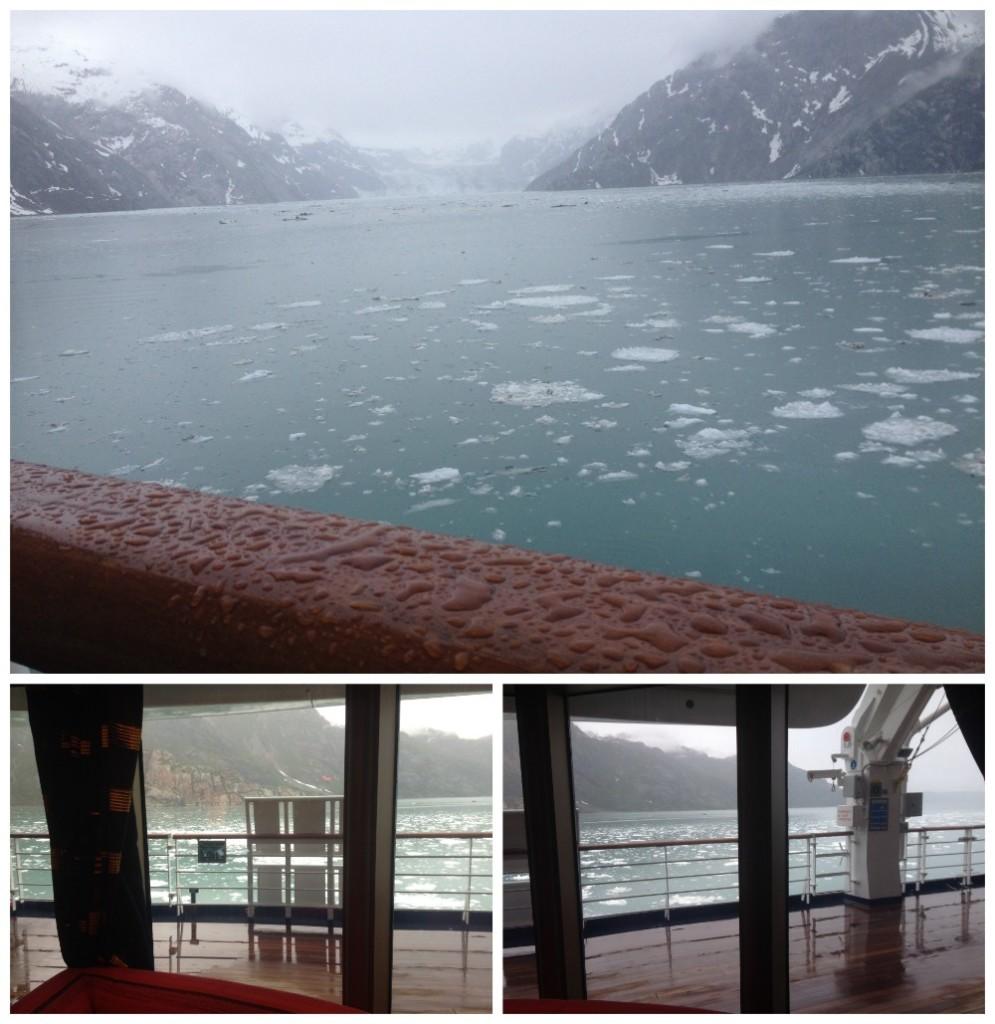 Raining and cold at Glacier Bay