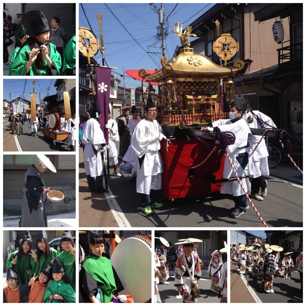 Takayama festival on the second day, 15 April