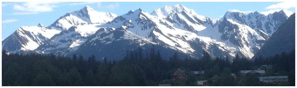 The mountains in Alaska