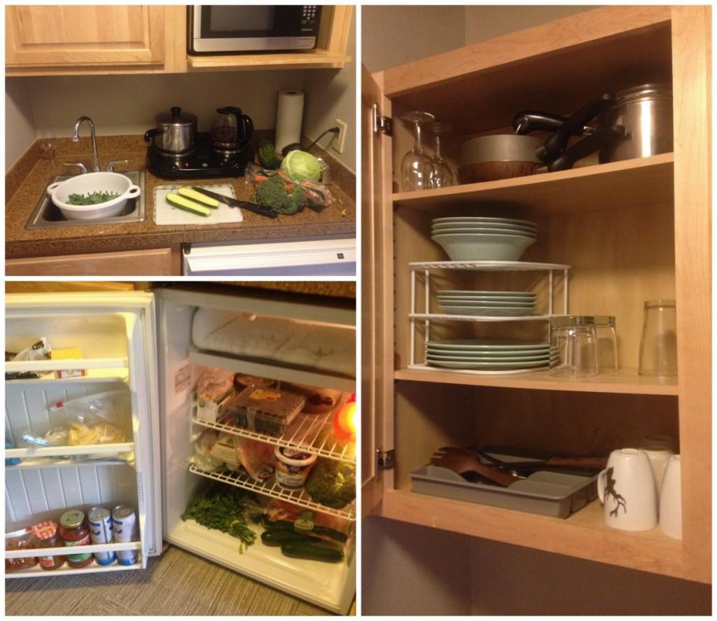A tiny kitchen