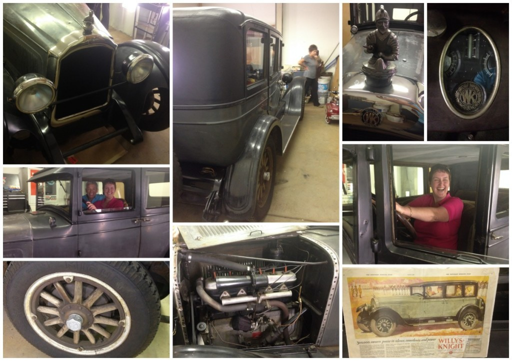 An original 1927 Willys Knight Old Timer