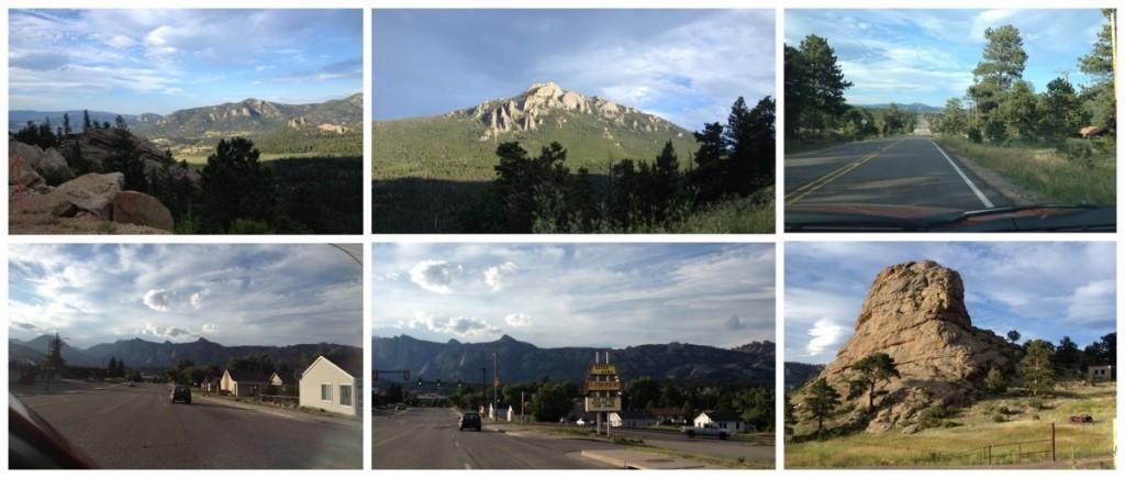 Arriving in Estes Park Colorado