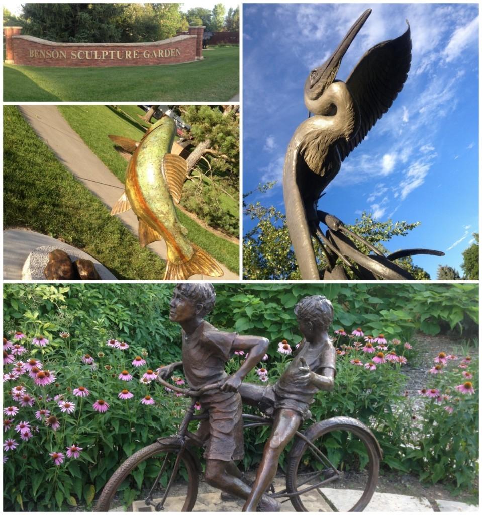 Benson Sculputure Park in Loveland
