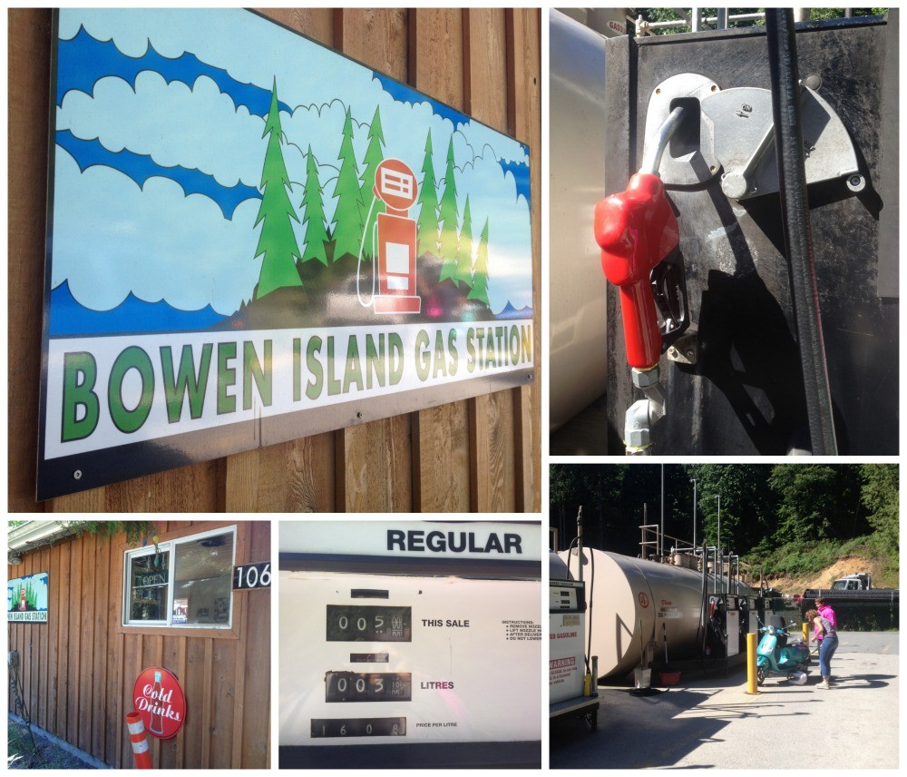 Bowen Island fuel - gas station