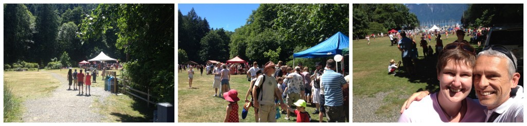 Crippen park Bowen Canada Day