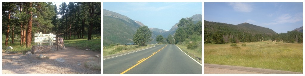 Entrance to the Rocky Mountain National Park