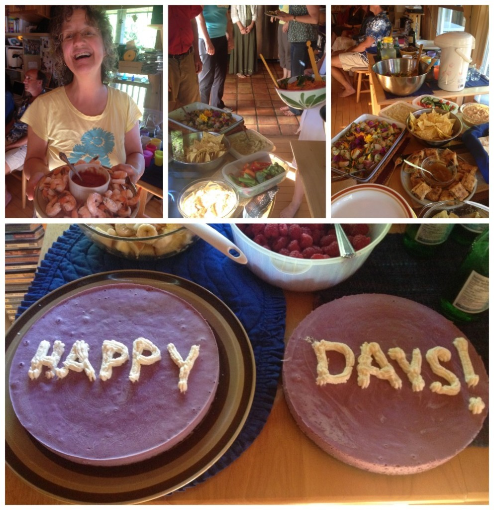 Happy days at Brian & Shasta's
