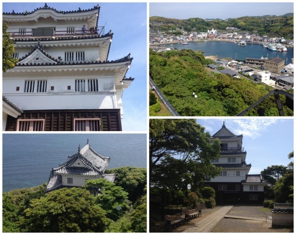 Hirado Castle views