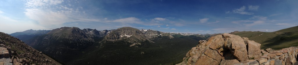 Awesome views in the Rocky Mountain National Park