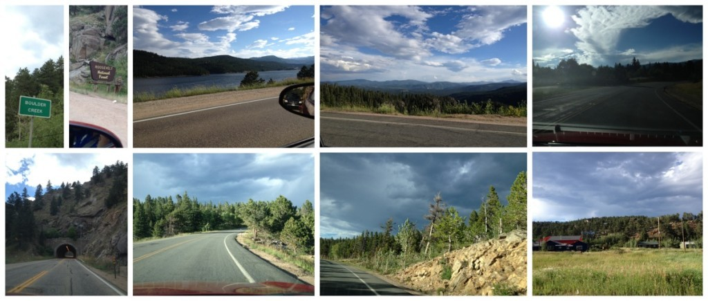 Images from the drive from Boulder towards Estes Park