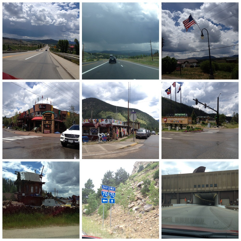 Images from our drive home