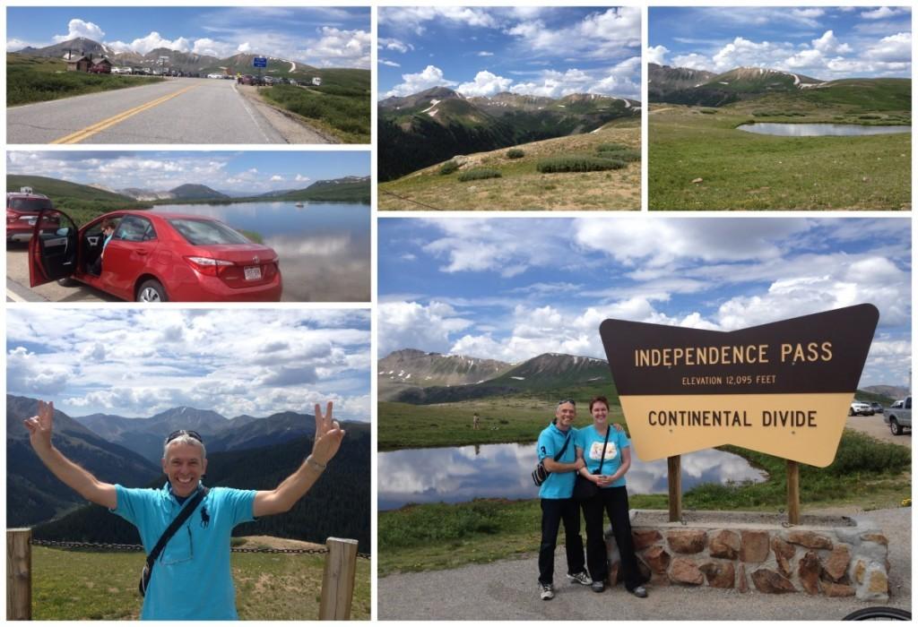Independance Pass at 12095 feet